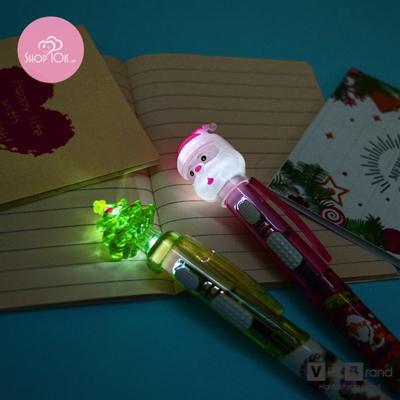 bút bi nhựa có đèn led