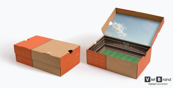 hộp giấy nắp liền