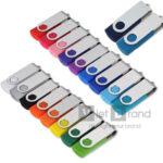 USB nhựa xoay | Quà tặng công nghệ