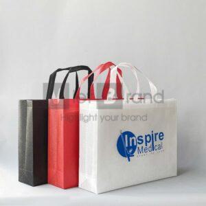 Túi vải không dệt hình chữ nhật | Quà tặng thân thiện môi trường