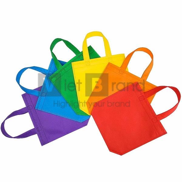 Túi vải không dệt có quai xách   Quà tặng thân thiện môi trường