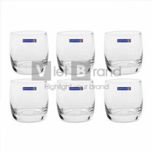 Bộ cốc thủy tinh in logo thương hiệu | Quà tặng gia dụng