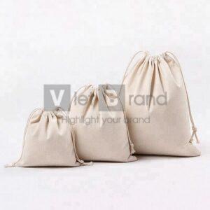 Túi vải bố dây rút | Quà tặng thân thiện môi trường